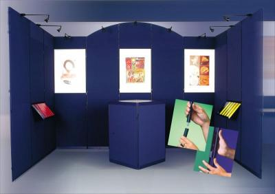 CLIP Booth with Plinth